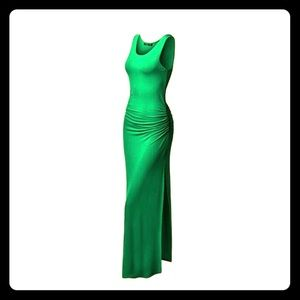 Green Twinth Maxi Dress Size M NWT